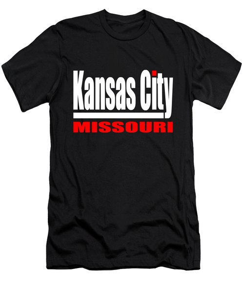 Kansas City Missouri Design Men's T-Shirt (Athletic Fit)