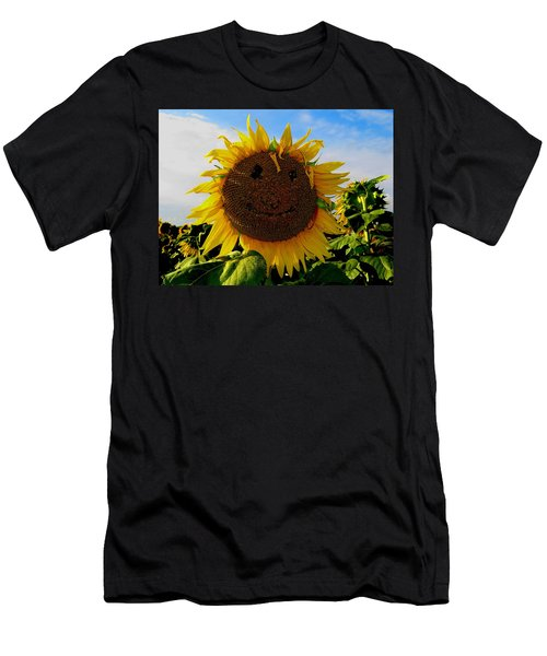 Kansas Sunflower Men's T-Shirt (Athletic Fit)
