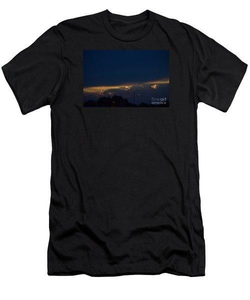 Kansas Sunset Angel Men's T-Shirt (Athletic Fit)