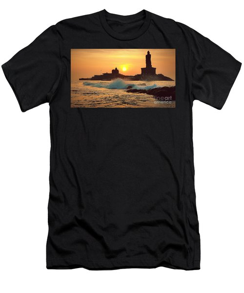 Kanyakumari / Cape Comorin Men's T-Shirt (Athletic Fit)