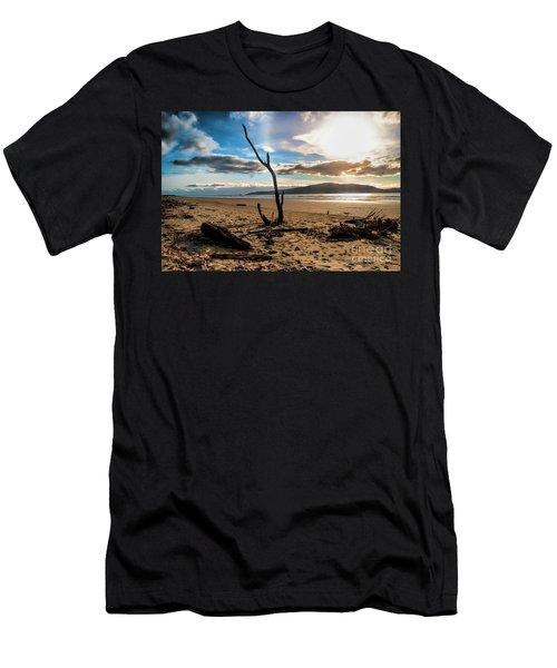 Kapiti Sunset Men's T-Shirt (Athletic Fit)