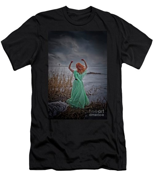 Katharsis Series 3/3 Release Men's T-Shirt (Slim Fit) by Agnieszka Mlicka