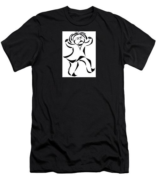Katy Rose Says No Men's T-Shirt (Athletic Fit)