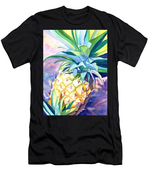 Kauai Pineapple 3 Men's T-Shirt (Athletic Fit)
