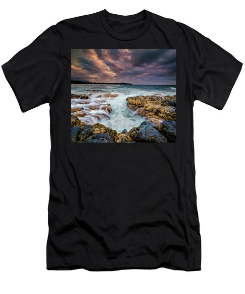 Kauai Ocean Rush Men's T-Shirt (Athletic Fit)