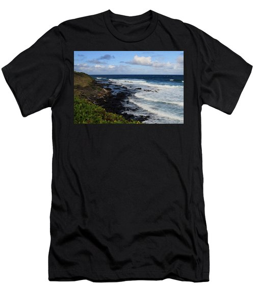 Kauai Shore 1 Men's T-Shirt (Athletic Fit)