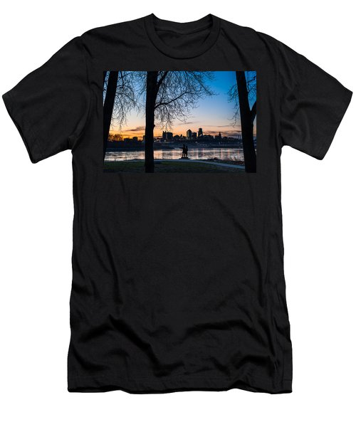 Kaw Point Park Men's T-Shirt (Athletic Fit)