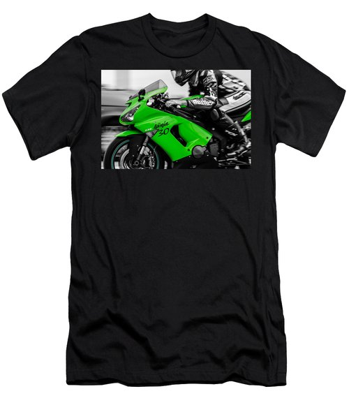 Kawasaki Ninja Zx-6r Men's T-Shirt (Athletic Fit)