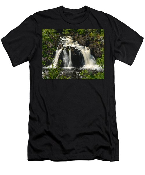 Kawishiwi Falls Men's T-Shirt (Athletic Fit)