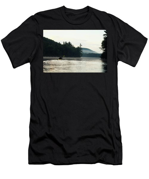 Kayak In The Fog Men's T-Shirt (Athletic Fit)