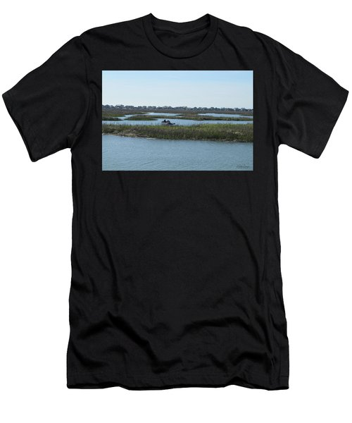 Kayakers Men's T-Shirt (Athletic Fit)