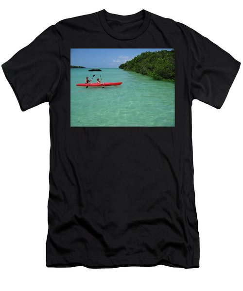 Kayaking Perfection 2 Men's T-Shirt (Athletic Fit)