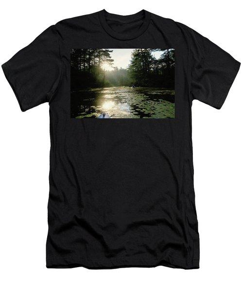 Kayaking Men's T-Shirt (Athletic Fit)