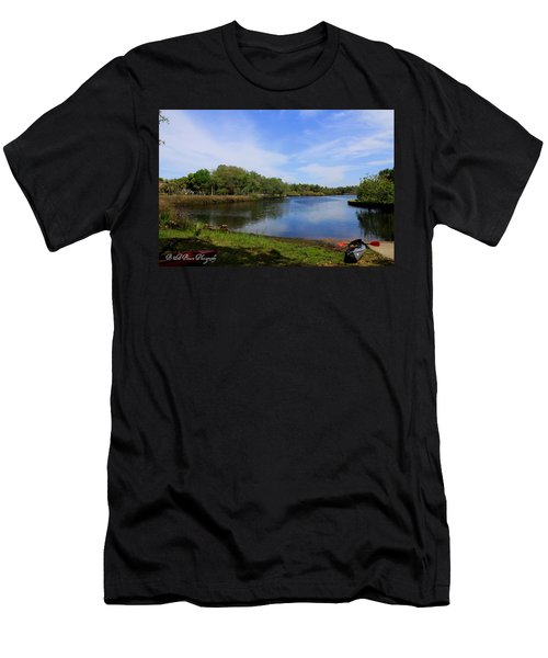 Kayaking The Cotee River Men's T-Shirt (Athletic Fit)