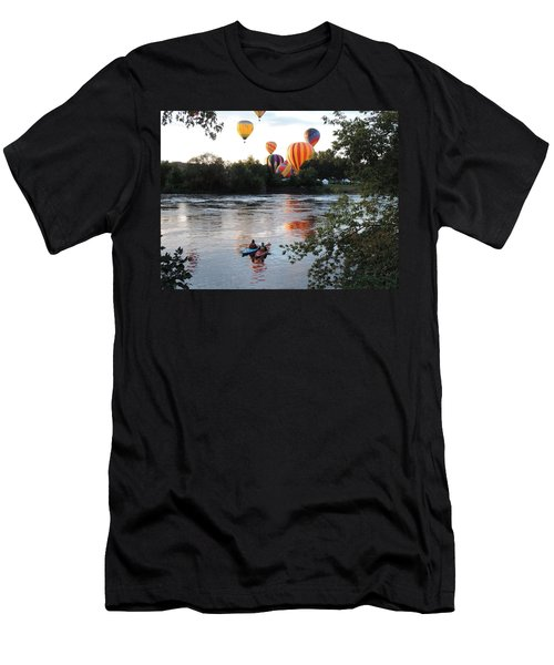 Kayaks And Balloons Men's T-Shirt (Athletic Fit)