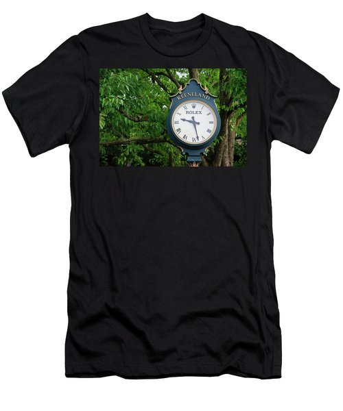 Keeneland Clock Men's T-Shirt (Athletic Fit)