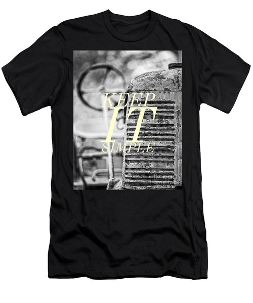 Keep It Simple Men's T-Shirt (Athletic Fit)