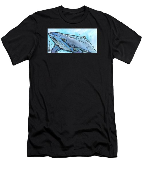 Keep Swimming Men's T-Shirt (Athletic Fit)