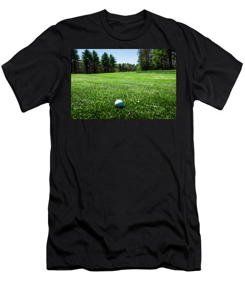Keep Your Eye On The Ball Men's T-Shirt (Athletic Fit)