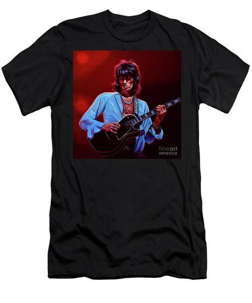 Keith Richards The Riffmaster Men's T-Shirt (Athletic Fit)