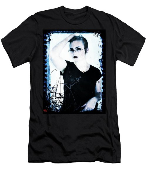 Men's T-Shirt (Slim Fit) featuring the digital art Kelsey 2 by Mark Baranowski