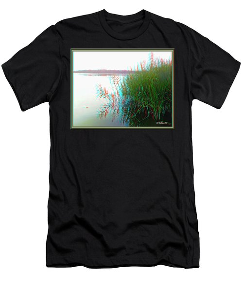 Kennersley Pt Marina - Use Red/cyan 3d Glasses Men's T-Shirt (Athletic Fit)