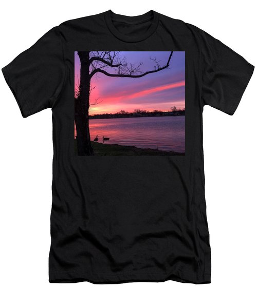 Men's T-Shirt (Slim Fit) featuring the photograph Kentucky Dawn by Sumoflam Photography