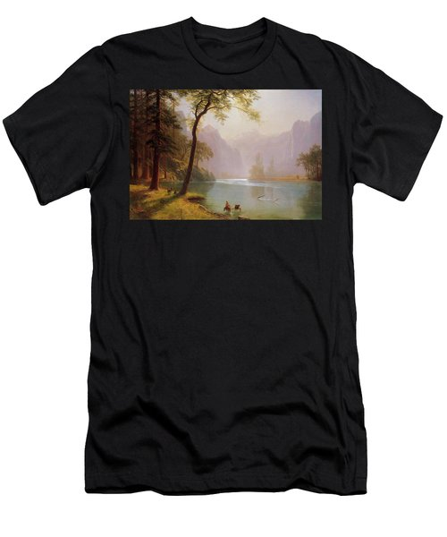 Kern S River Valley California Men's T-Shirt (Athletic Fit)