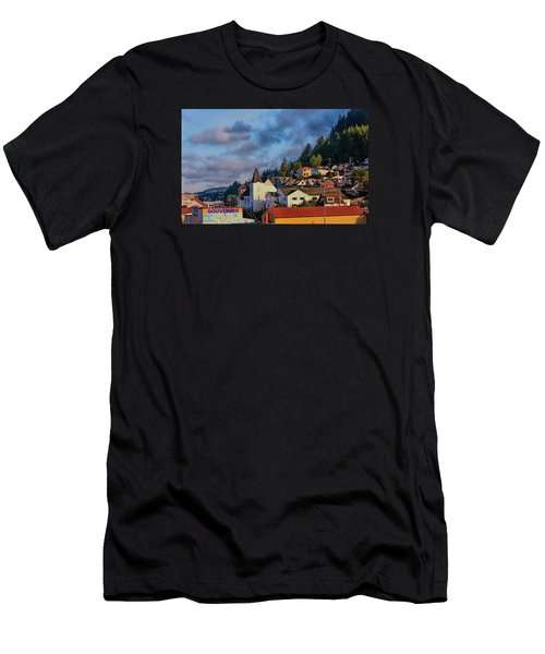 Men's T-Shirt (Slim Fit) featuring the photograph Ketchikan Morning by Lewis Mann