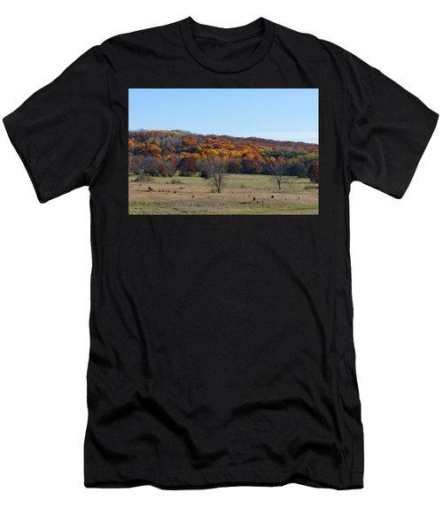 Kettle Morraine In Autumn Men's T-Shirt (Athletic Fit)