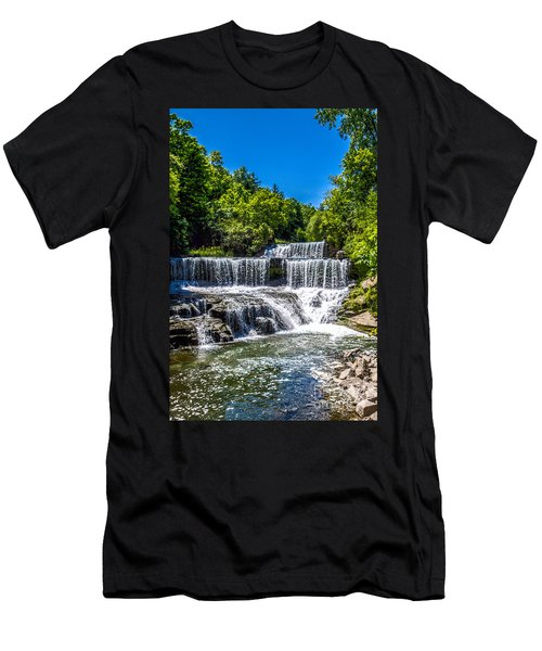 Keuka Outlet Waterfall Men's T-Shirt (Athletic Fit)