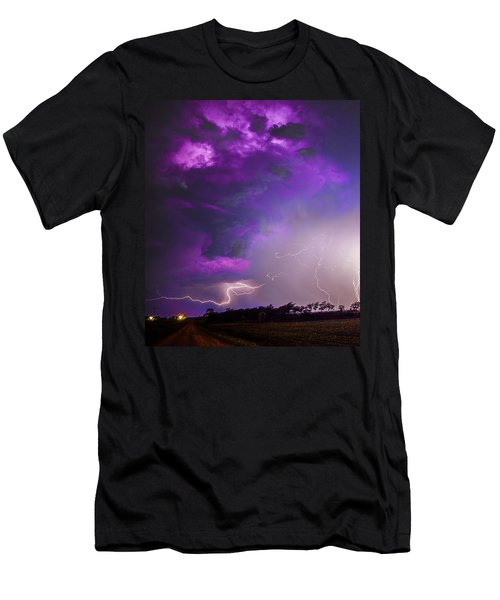 Kewl Nebraska Cg Lightning And Krawlers 038 Men's T-Shirt (Athletic Fit)