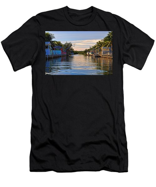 Key Largo Canal Men's T-Shirt (Athletic Fit)