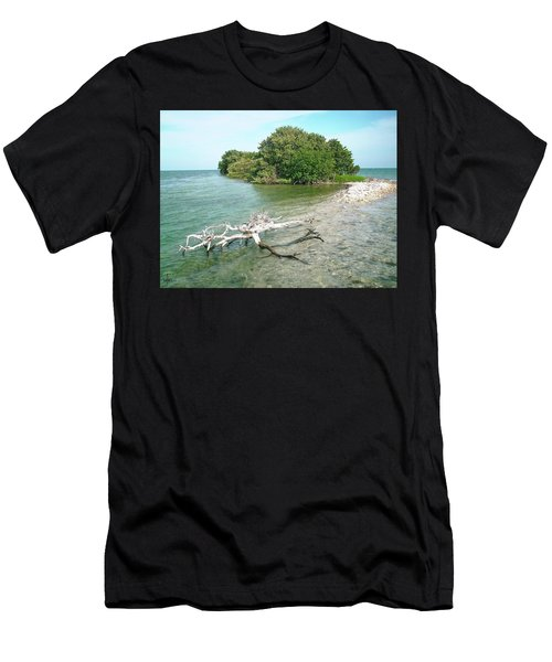 Key Largo Out Island Men's T-Shirt (Athletic Fit)