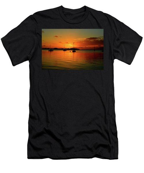 Key Largo Sunset Men's T-Shirt (Athletic Fit)