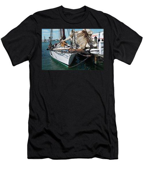 Key West Appledore Sailboat Men's T-Shirt (Athletic Fit)