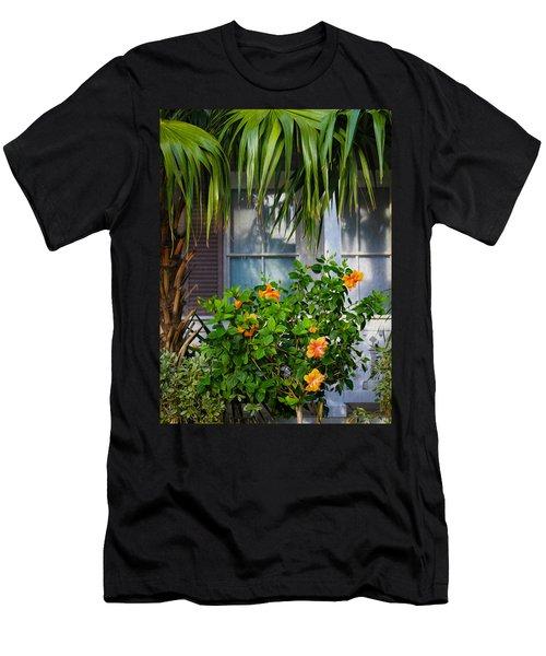 Key West Garden Men's T-Shirt (Athletic Fit)