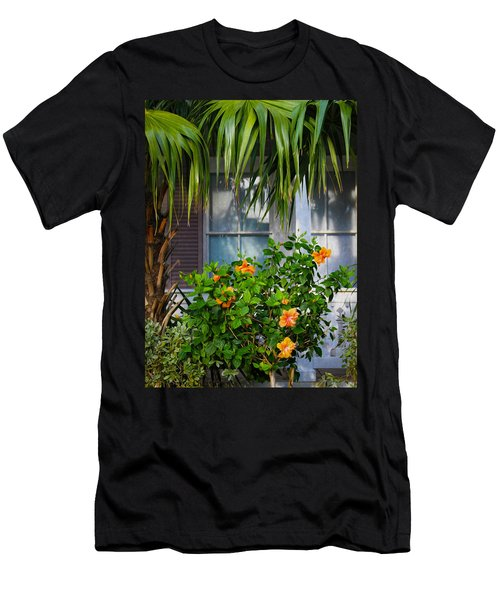 Key West Garden Men's T-Shirt (Athletic Fit)