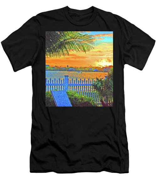 Key West Life Style Men's T-Shirt (Athletic Fit)