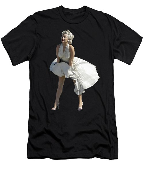 Key West Marilyn - Special Edition Men's T-Shirt (Slim Fit) by Bob Slitzan