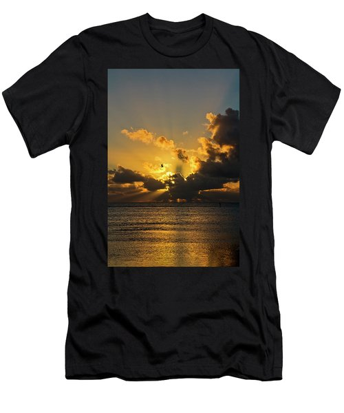 Key West Sunrise 39 Men's T-Shirt (Athletic Fit)