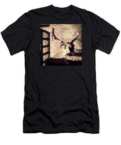 Keys To My Heart 2 Men's T-Shirt (Slim Fit) by Ronda Broatch