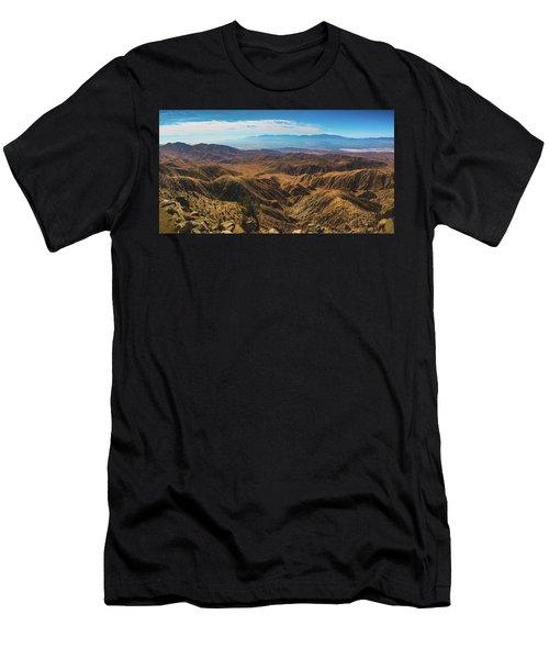 Keys View Overlook Panorama Men's T-Shirt (Athletic Fit)