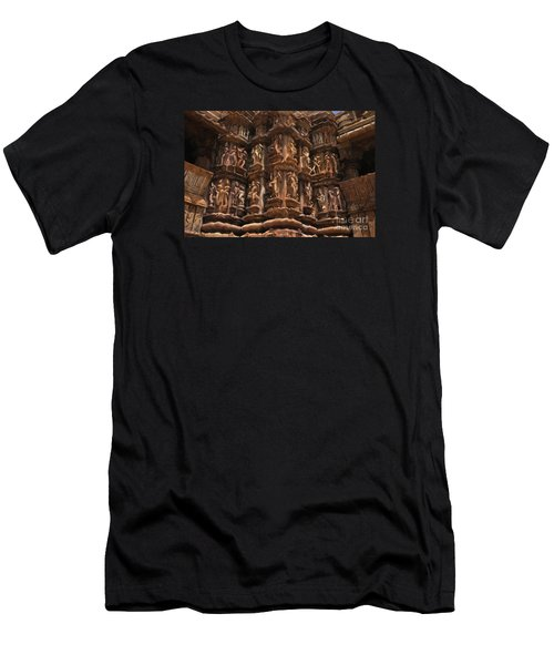 Khajuraho Temples 3 Men's T-Shirt (Athletic Fit)