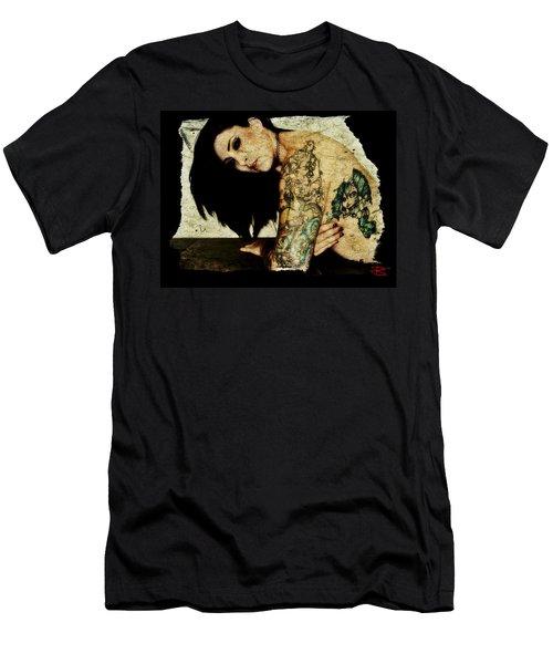 Khrist 2 Men's T-Shirt (Slim Fit) by Mark Baranowski