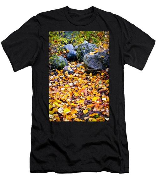 Kick Me Men's T-Shirt (Athletic Fit)