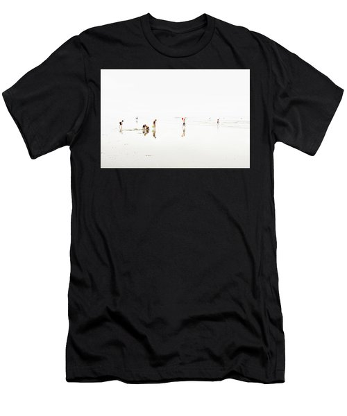 Kids On The Beach 1 Men's T-Shirt (Athletic Fit)