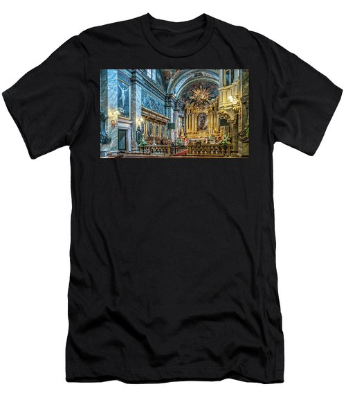 Kielce Cathedral In Poland Men's T-Shirt (Athletic Fit)