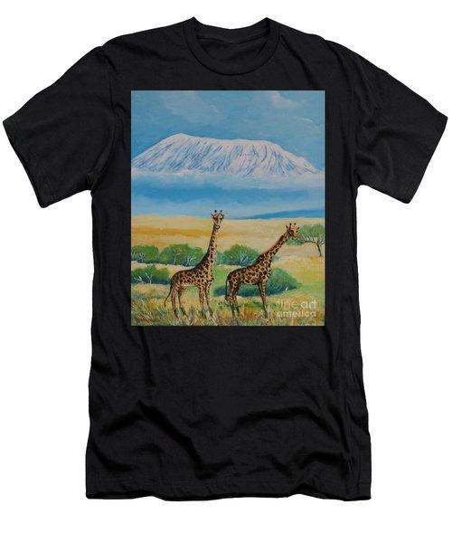Kilimandjaro Men's T-Shirt (Athletic Fit)