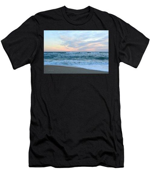 Men's T-Shirt (Athletic Fit) featuring the photograph Kill Devil Hills 11/24 by Barbara Ann Bell
